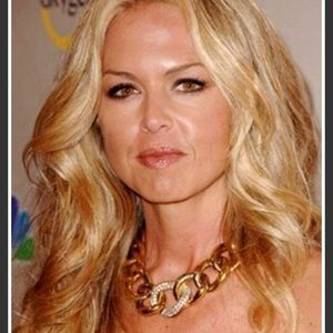 GIVENCHY seen on Rachel Zoe Crystal Gold Necklace
